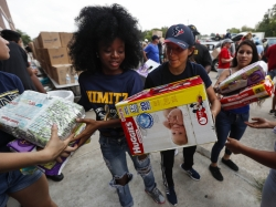 Volunteers in Houston