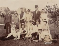 Croquet, genealogy, ancestry