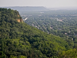 View from La Crosse bluffs