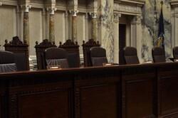 Wisconsin Supreme Court chamber
