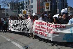 Voces de la Frontera rally in Waukesha