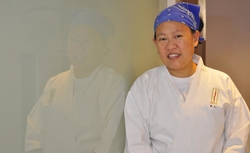 """Anita Lo, author of """"Solo: A Modern Cookbook for a Party of One."""""""