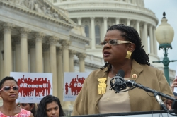 Gwen Moore speaking