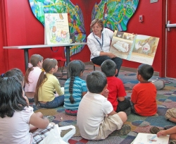 story time, San Jose Library (CC-BY-SA)