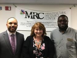 Marc Young, Shereen Siewert, and Dr. Sam Dinga