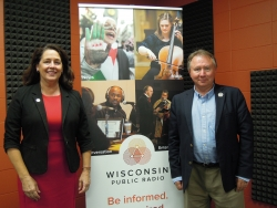 State Rep. Jill Billings, D-La Crosse and State Rep. Steve Doyle, D-Onalaska