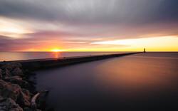 Sheboygan sunrise