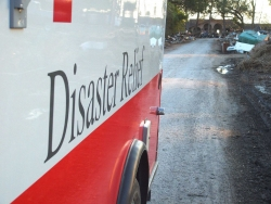Disaster relief truck