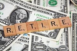 retire in scrabble letters