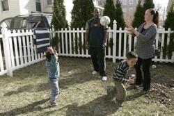 Family Interracial Marriage Race Kids White Black