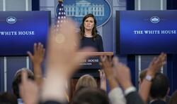 White House Press Reporters Sarah Huckabee Sanders Media