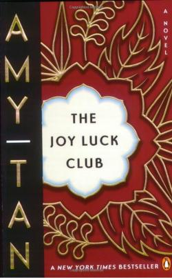 Book cover for The Joy Luck Club by Amy Tan