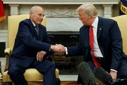 John Kelly and President Donald Trump