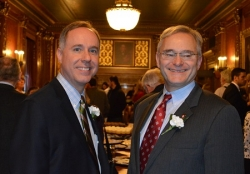 Reps. Robin Vos and Peter Barca