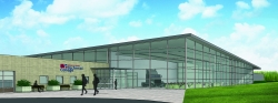Graphic of proposed building at Chippewa Valley Technical College.