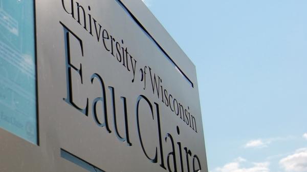 UW-Eau Claire sign