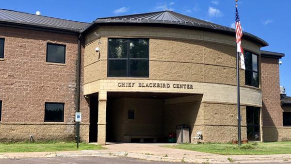 The Chief Blackbird Center in Odanah