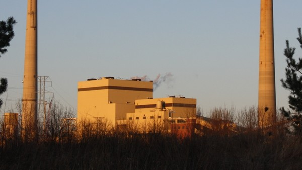 Edgewater coal plant in Sheboygan