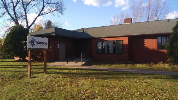 Embrace's shelter in the city of Ladysmith
