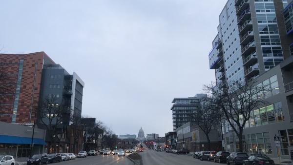 Development along East Washingtong Ave. in Madison
