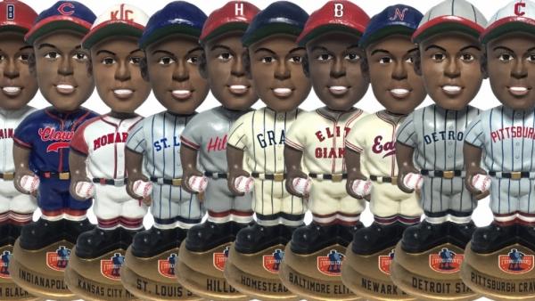Negro League baseball bobbleheads