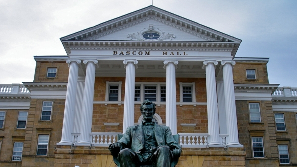 Bascom Hall at the University of Wisconsin-Madison