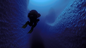 inside ice island