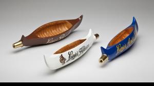 Leinenkugel canoe tap handles