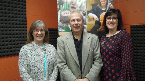 Jodi Widuch, Chris Hardie and Marianne Torkelson