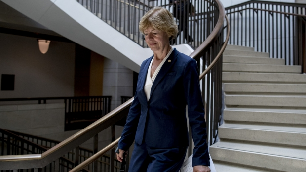 U.S. Sen. Tammy Baldwin on Capitol Hill