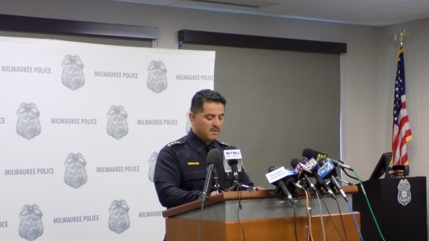 Milwaukee Police Chief Alfonso Morales