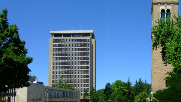 Van Hise Hall, home of University of Wisconsin System offices.