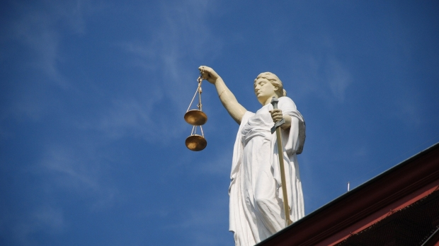 Statue of Justice.