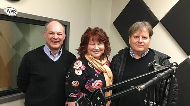Rick Reyer, Shereen Siewert and Mitch Viegut