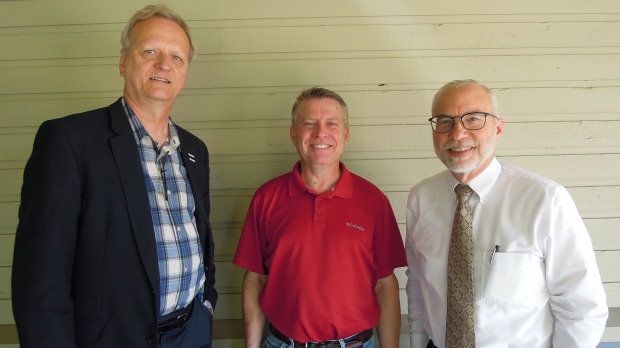 Dean Kallenbach Mark Quam and Scott Rogers