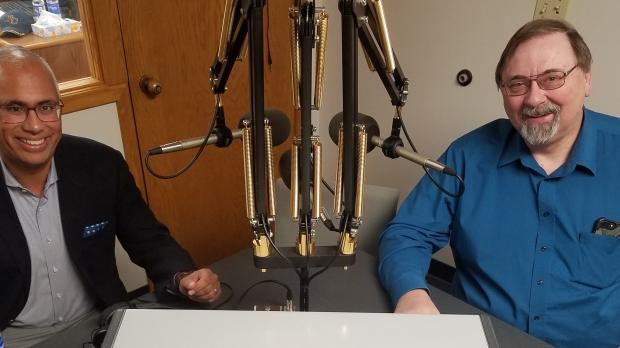 Dr. Ashok Rai and Greg Nycz