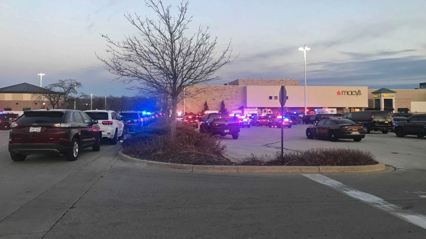 Several law enforcement agencies respondedto a shooting at Mayfield Mall