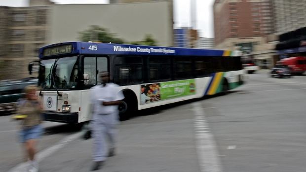 Milwaukee County Transit bus