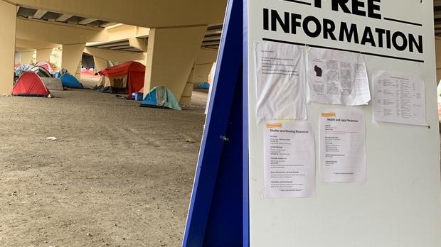 homeless, Marquette Interchange, Tent City