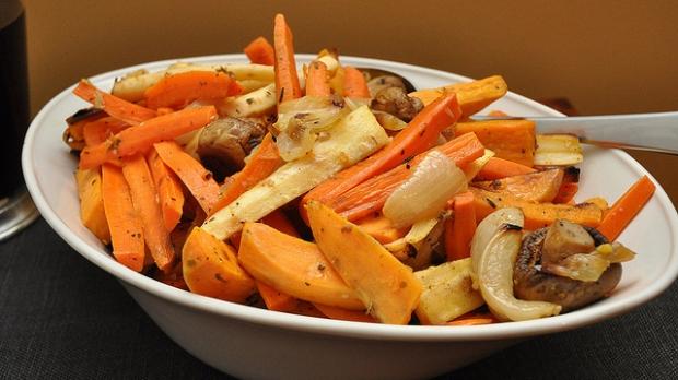 maple balsamic veggie fries