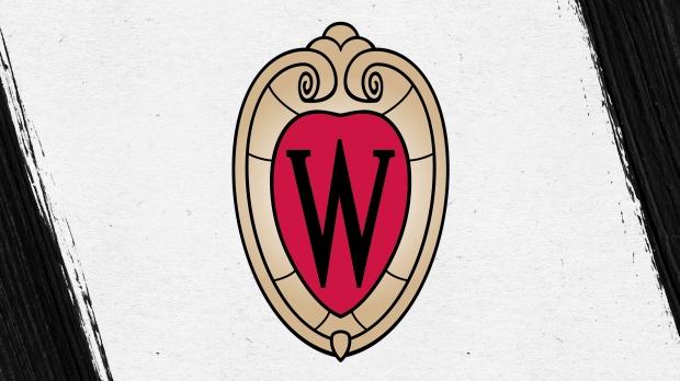 UW-Madison black crest logo