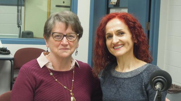 Lois Gilbert and Lema Kabashi
