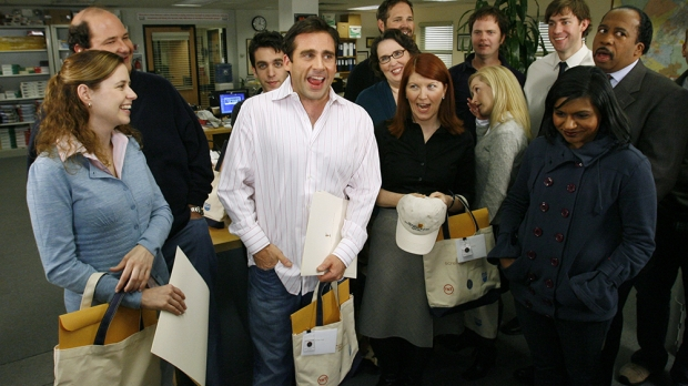 "The cast of NBC's ""The Office"""