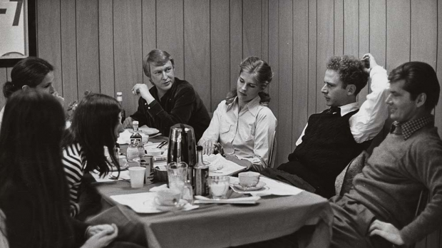 Mike Nichols on set of 'Carnal Knowledge' shoot