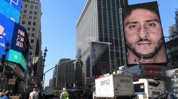 "Colin Kaepernick's ""Just Do It"" Nike Billboard"