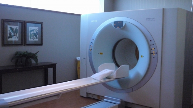 A CT scanner