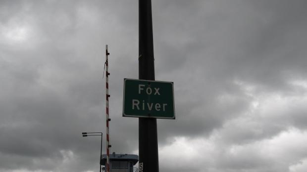 Fox River in Green Bay