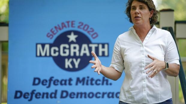 Amy McGrath campaigns