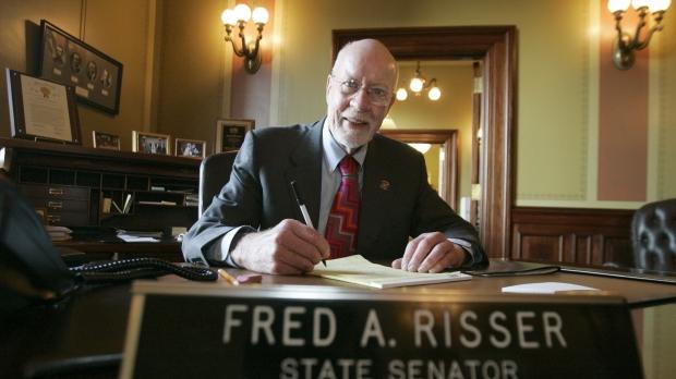 Wisconsin state Senator Fred Risser