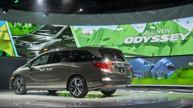 Honda Odyssey minivan